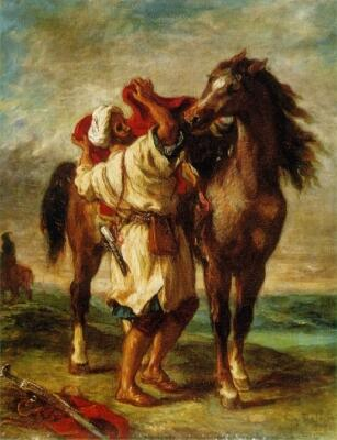 The Arab and his Horse