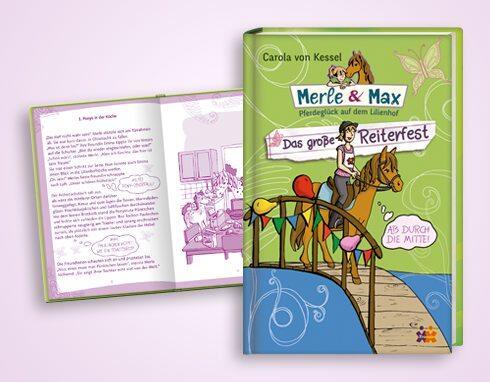 Carola von Kessel Pferdespuk /& Wahre Liebe Merle /& Max